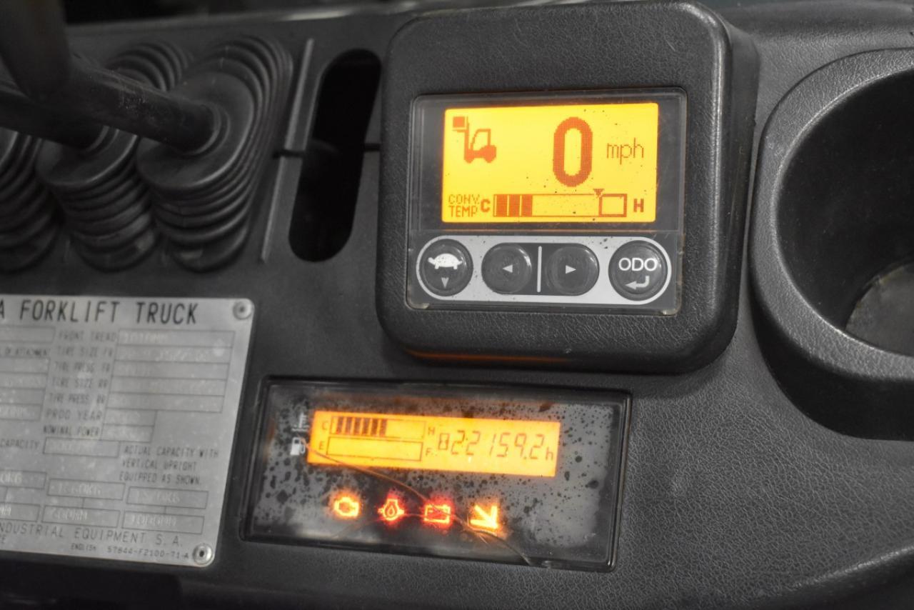 15824 TOYOTA 02-8FGF30 - LPG, 2008, BP, volný zdvih, Triplex