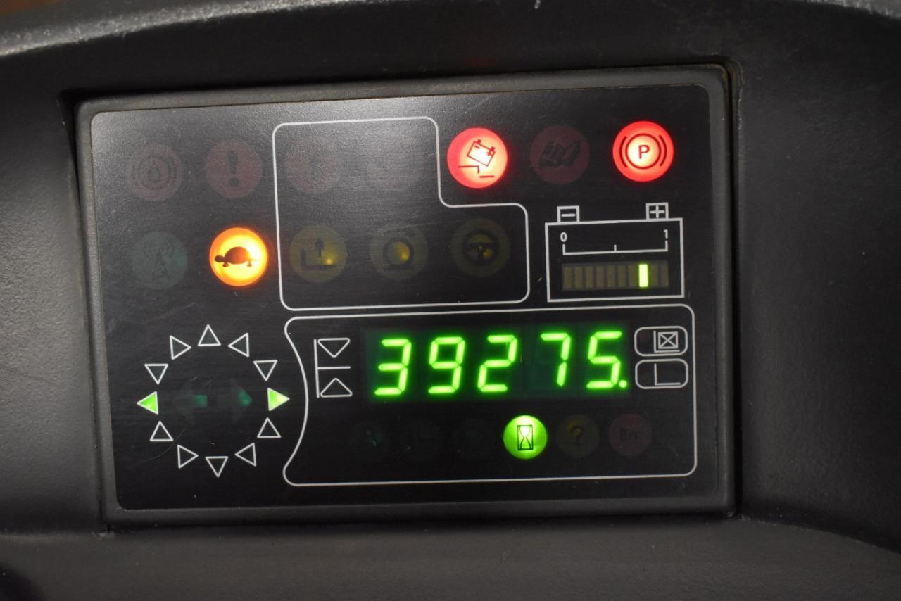 21018 LINDE R 14 - AKU, Retrak, 2005, BP, volný zdvih, Triplex, BAT 2013