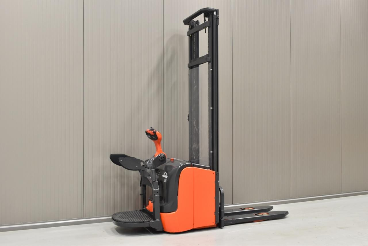 23528 LINDE L 14 AP - Battery, 2012, initial lift, only 3479 hrs