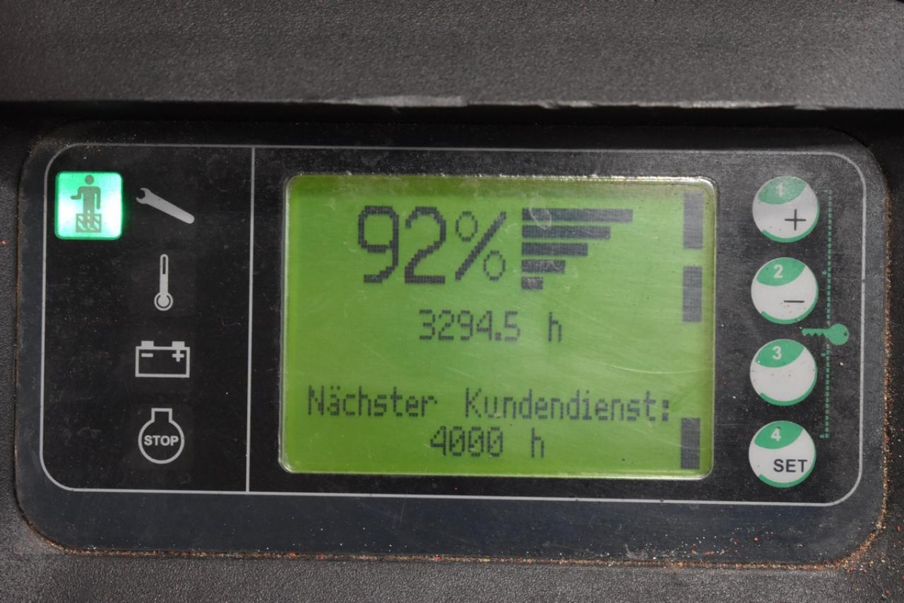 LINDE L 12 L API - AKU, 2010, přízdvih, pouze 3293 mth