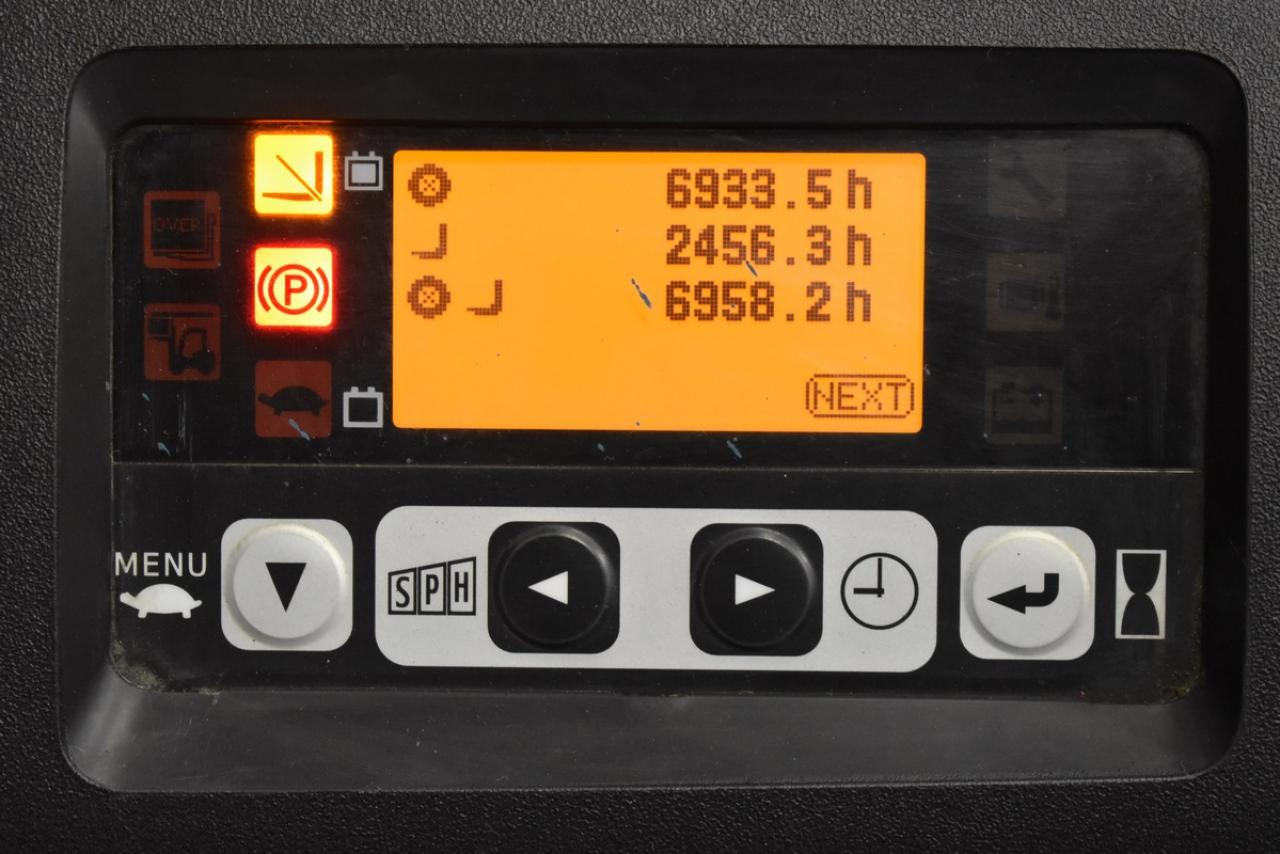 TOYOTA 8FBET16 - ELEKTRYCZNY, 2012, PBW, wolny skok, tylko 6956 mtg