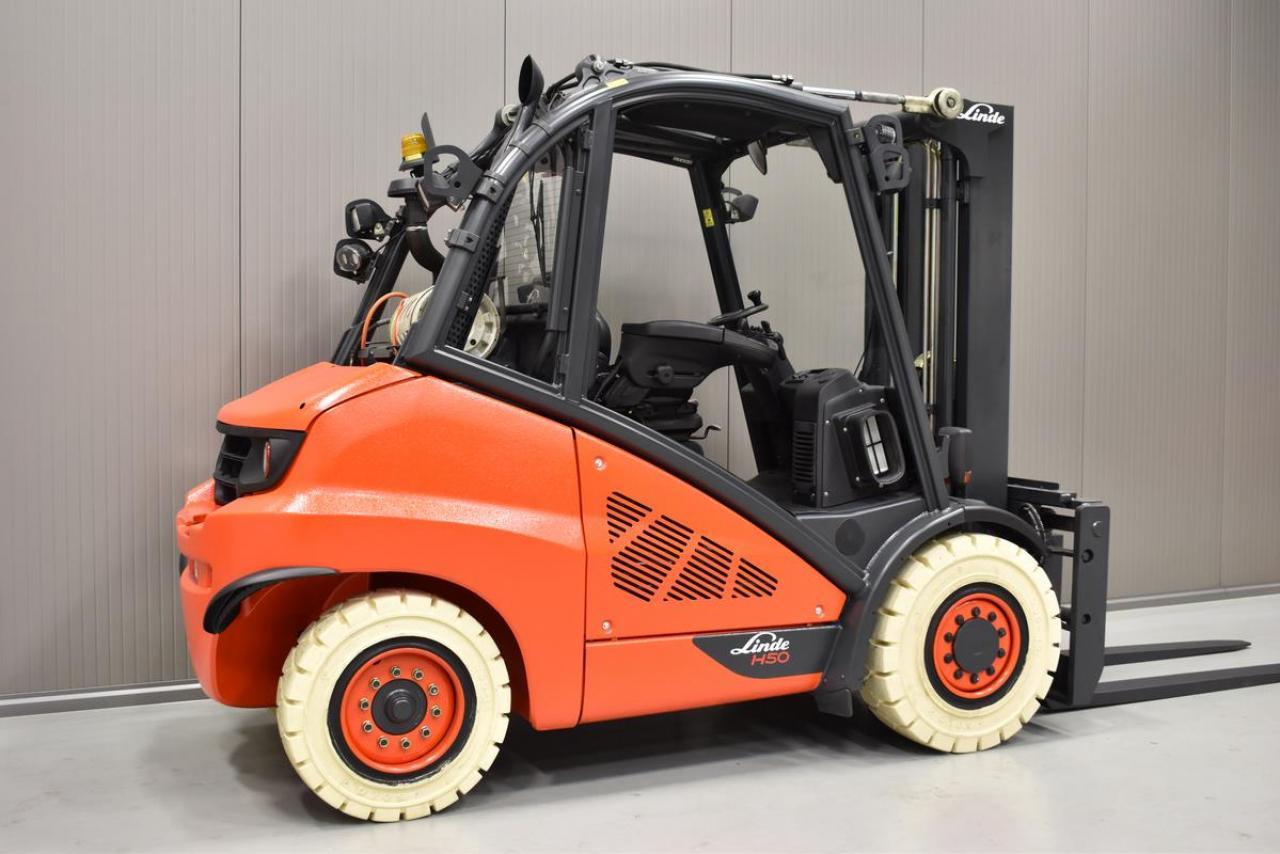 LINDE H 50 T-01/600 - LPG, 2012, polokabina, BP