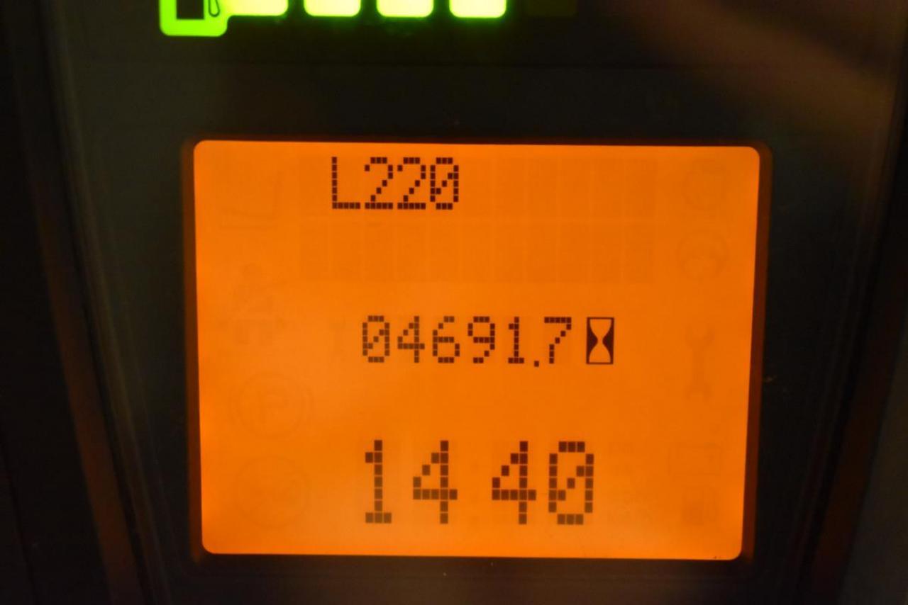 LINDE H 16 D-01 - дизель, 2013, полукабина, УБС, свободный ход, TRIPLEX, всего 4691 м/ч