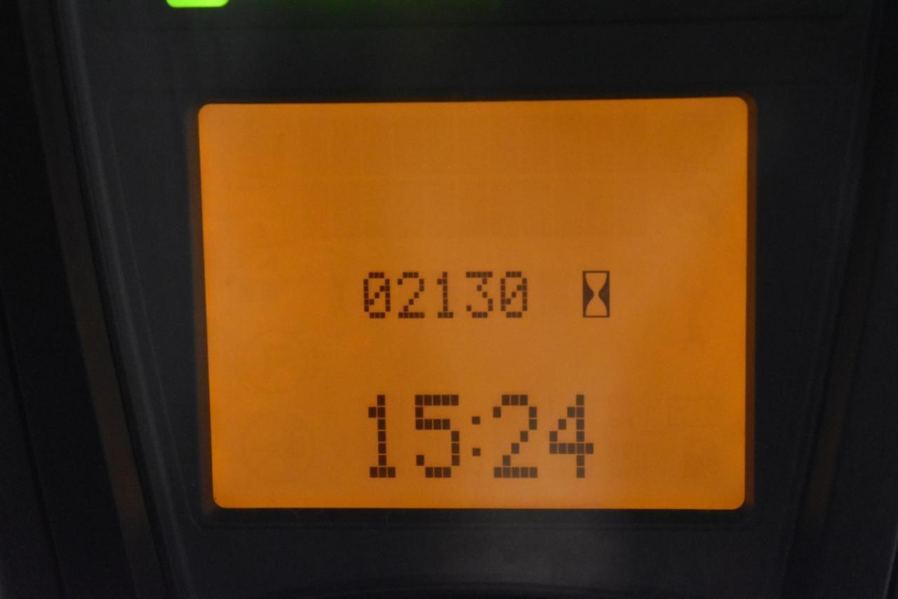 LINDE E 16 H-01 - AKU, 2012, BP, volný zdvih, Triplex, pouze 2128 mth