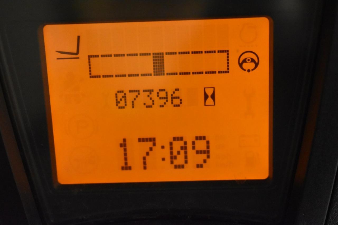 26034 LINDE E 16 H-01 - AKU, 2012, BP, Volný zdvih, pouze 7391 mth