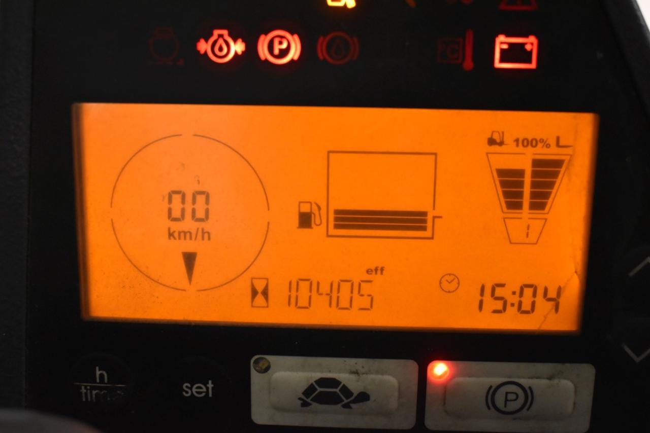 JUNGHEINRICH DFG 550 S - Diesel, 2012, Kabina, BP, volný zdvih