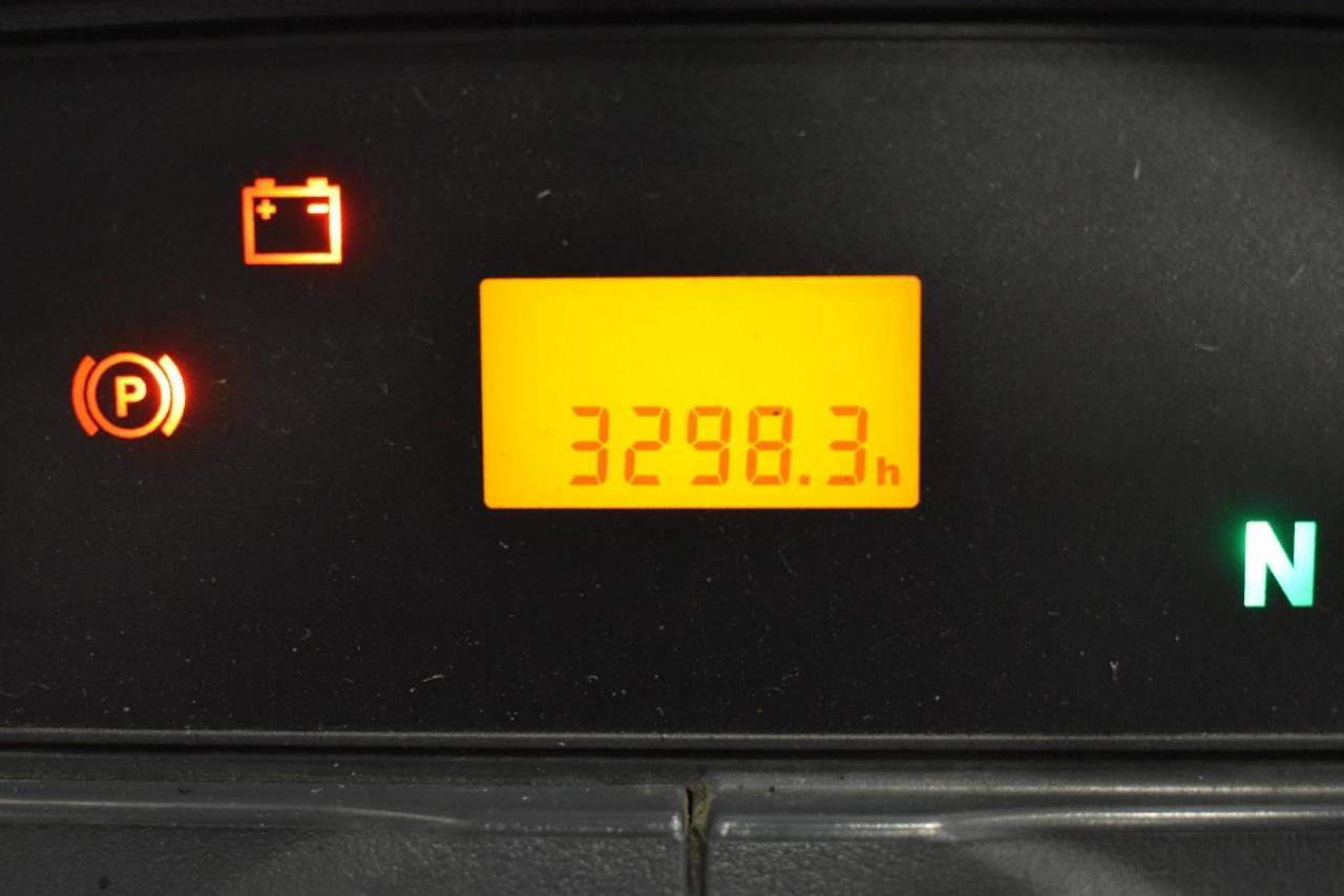 JUNGHEINRICH TFG 430 - LPG, 2014, polokabina, BP, pouze 3295 mth