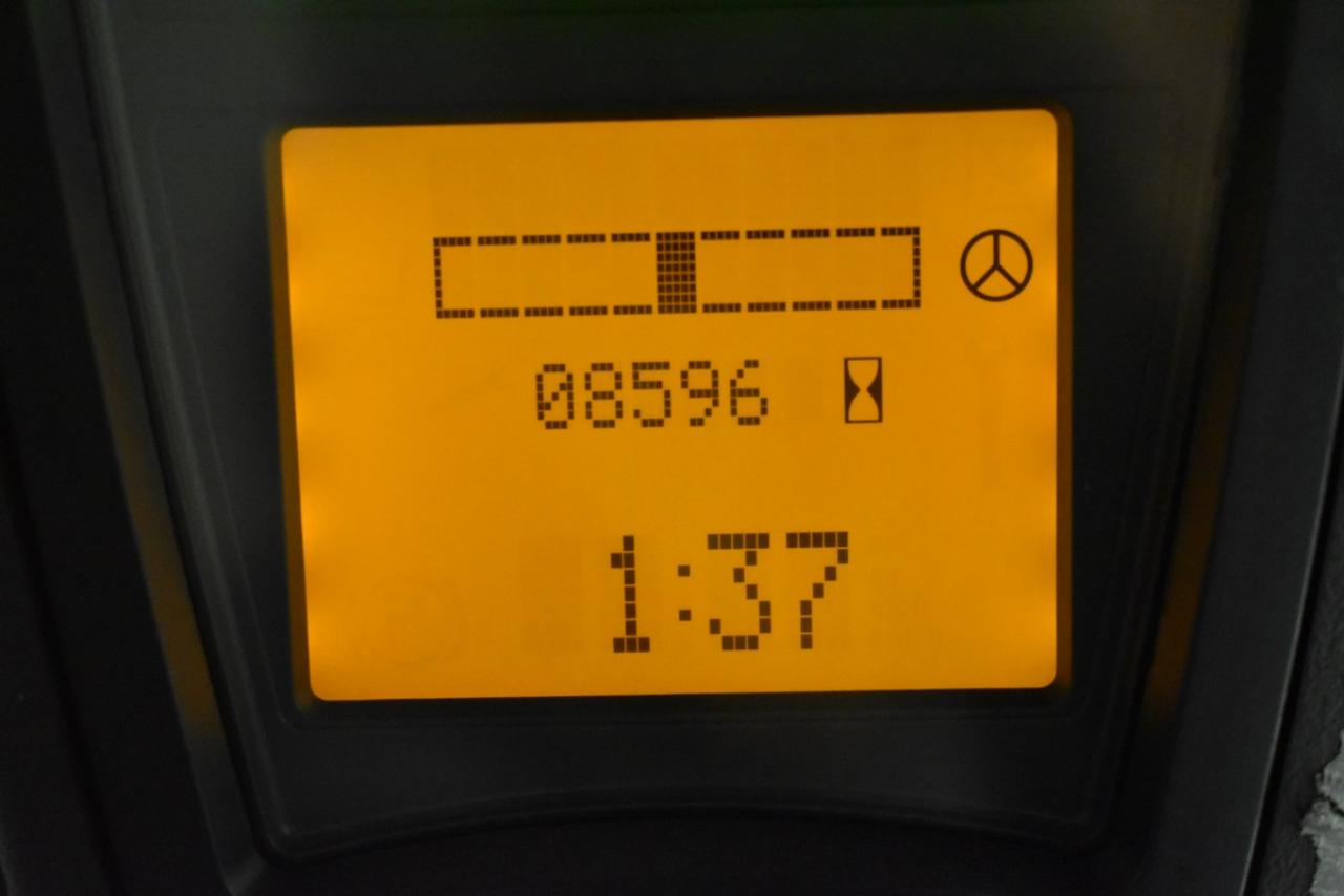 LINDE E 16-01 - AKU, 2008, BP, volný zdvih, Triplex