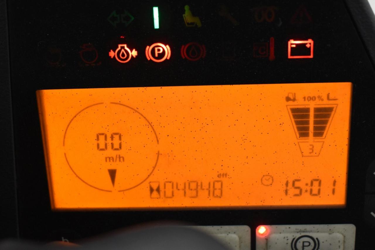 27110 JUNGHEINRICH TFG 425 S - LPG, 2010, SS, only 4942 hrs