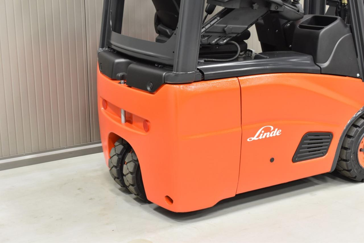 27279 LINDE E 14-01 - Battery, 2013, SS, free lift, only 5690 hrs
