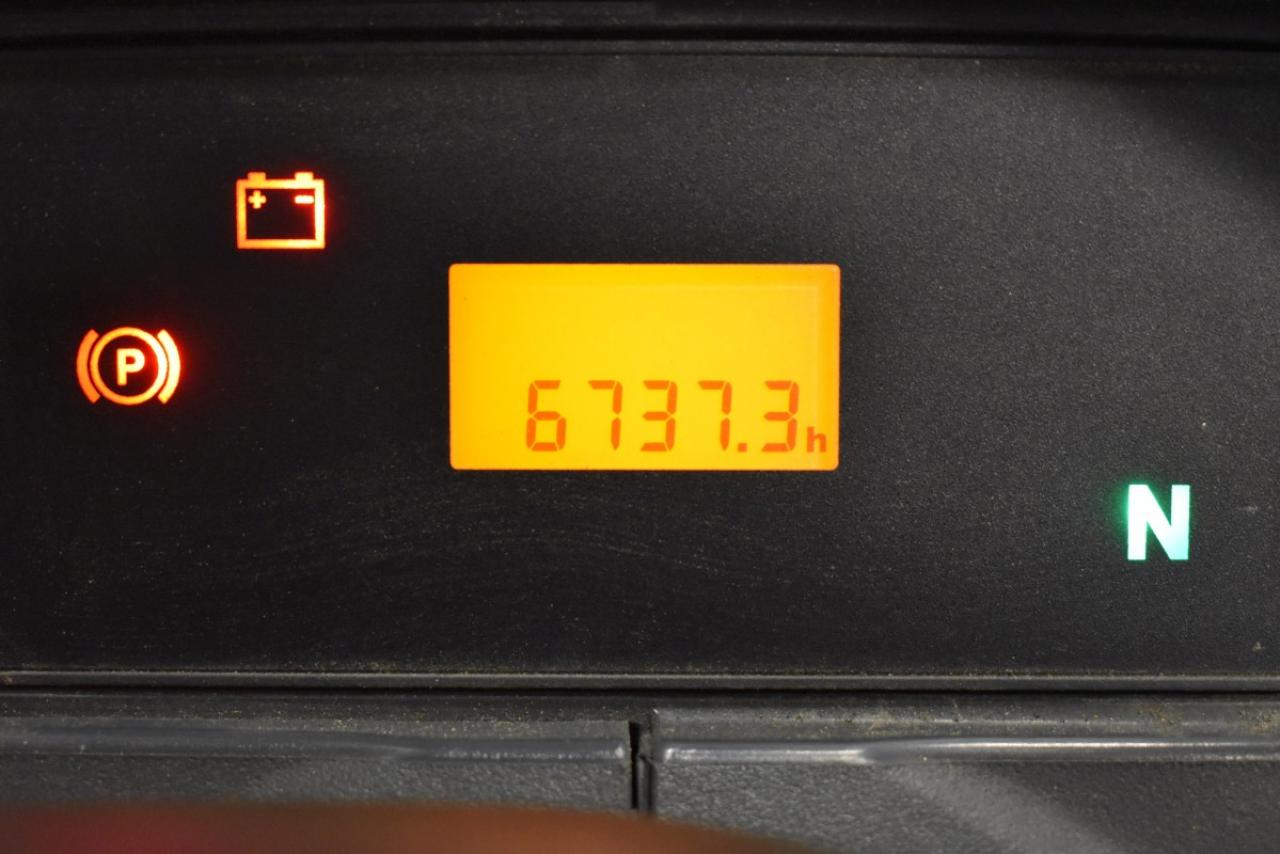 27378 JUNGHEINRICH TFG 430 - LPG, 2014, polokabina, BP, pouze 6736 mth