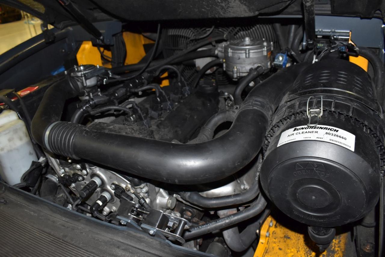 27826 JUNGHEINRICH TFG 540 S - LPG, 2014, Kabina, BP