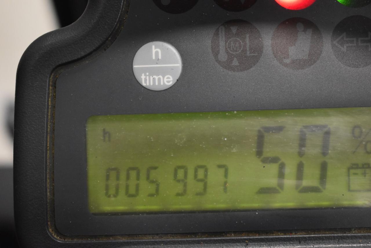 28033 JUNGHEINRICH EFG 115 - AKU, 2008, BP, voľný zdvih, iba 5994 mth
