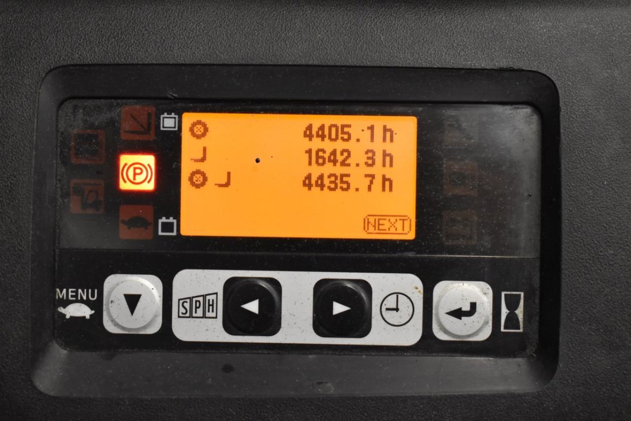 28294 TOYOTA 8FBMT16 - AKU, 2013, BP, volný zdvih, pouze 4435 mth