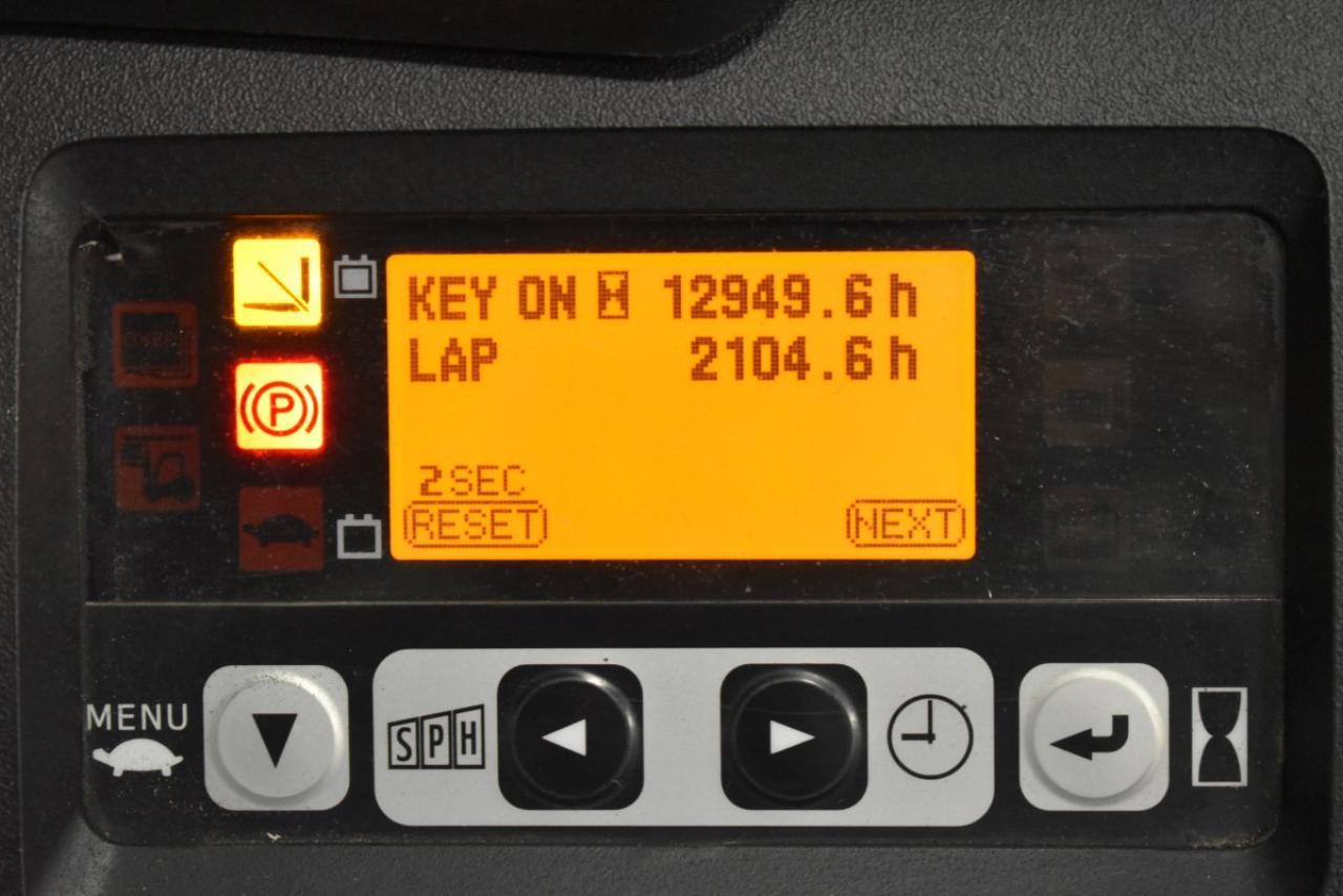 28297 TOYOTA 8FBMT20 - AKU, 2014, BP, volný zdvih, pouze 4625 mth