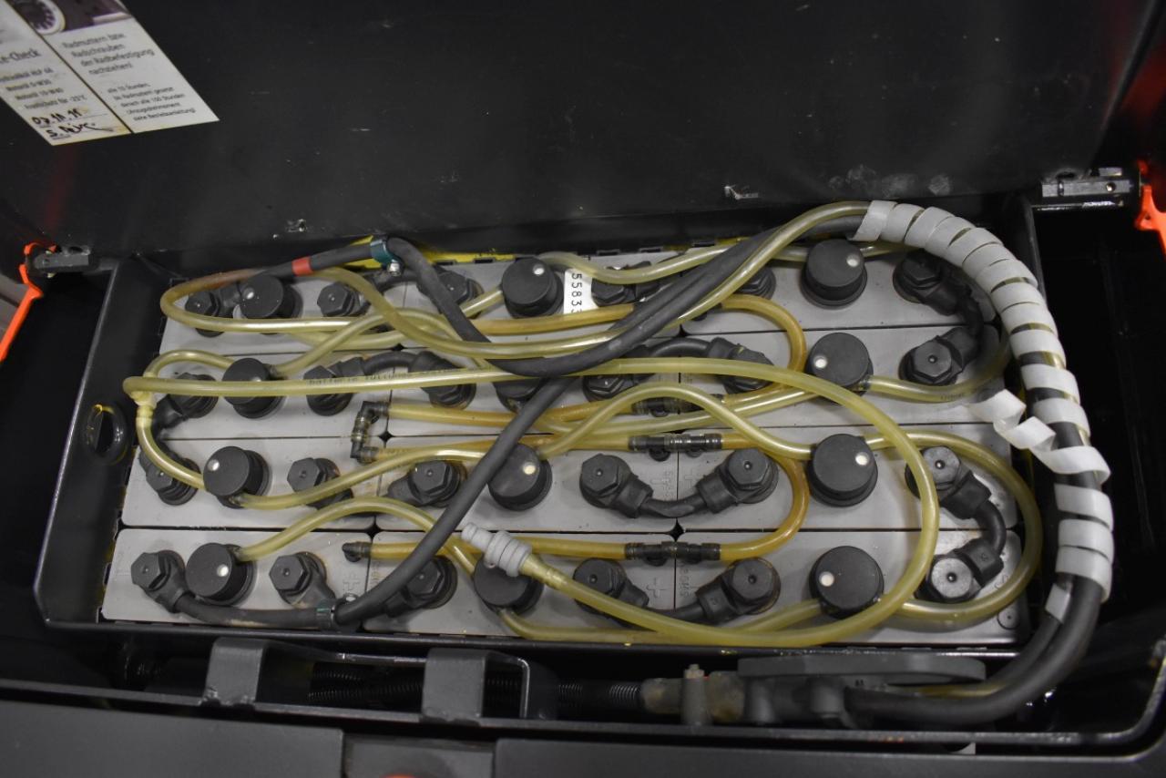 29002 LINDE L 16 - AKU, 2011, volný zdvih, Triplex, pouze 1286 mth