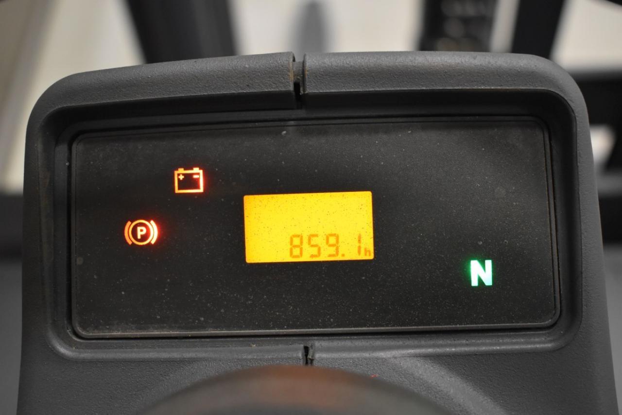 29010 JUNGHEINRICH TFG 425 - LPG, 2015, BP, volný zdvih, pouze 858 mth