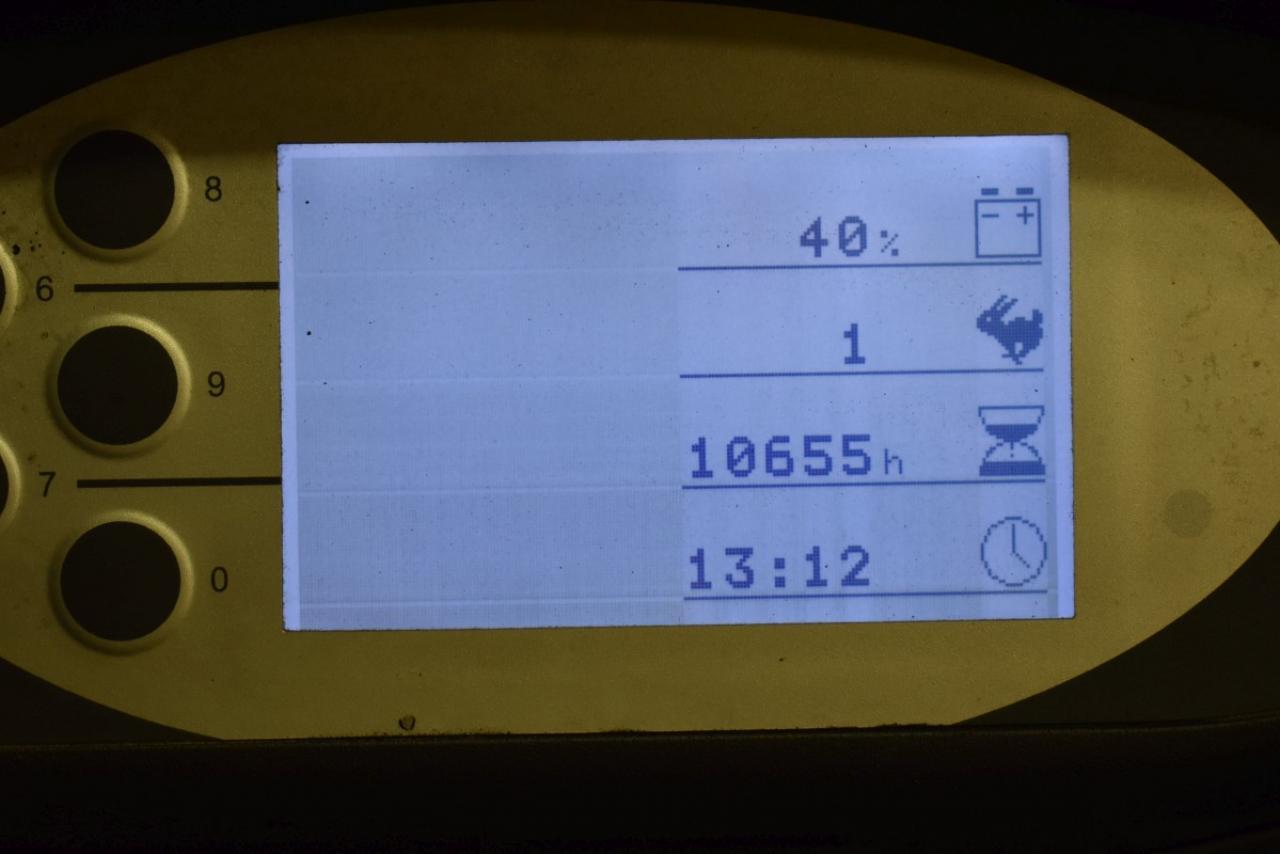 29073 STILL RX 60-25 - Battery, 2009, SS, Free lift