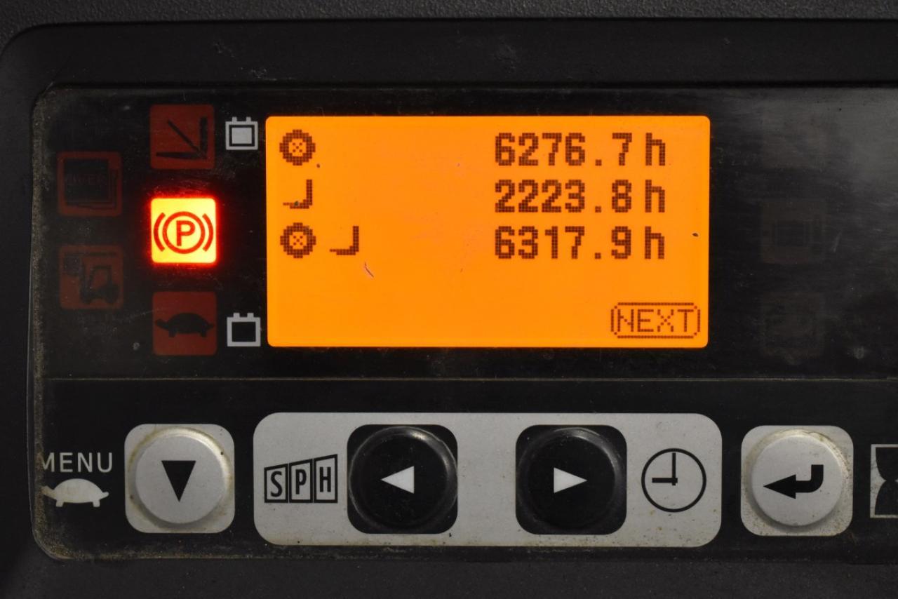 29456 TOYOTA 8FBET15 - AKU, 2014, BP, volný zdvih, pouze 6316 mth