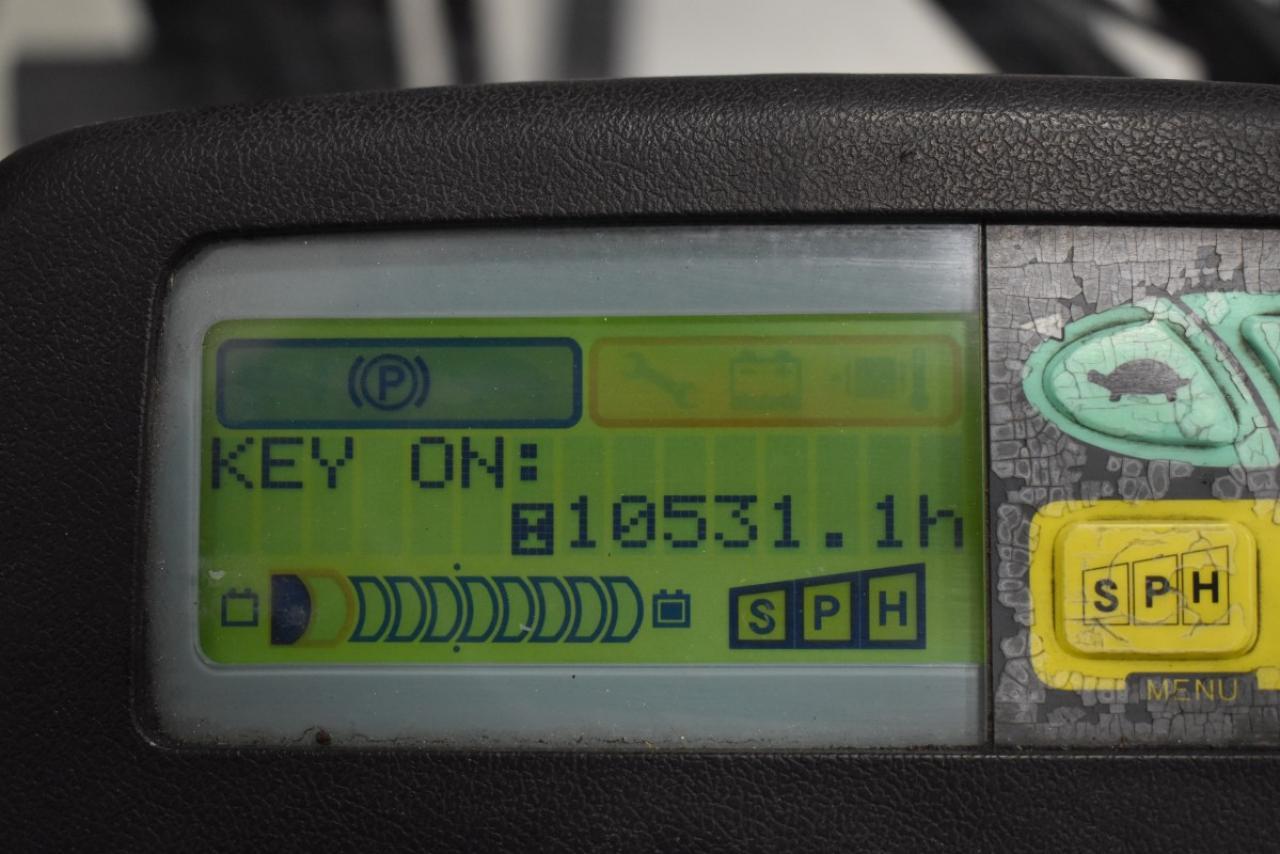 29645 TOYOTA 7FBMF25 - AKU, 2012, polokabina, BP