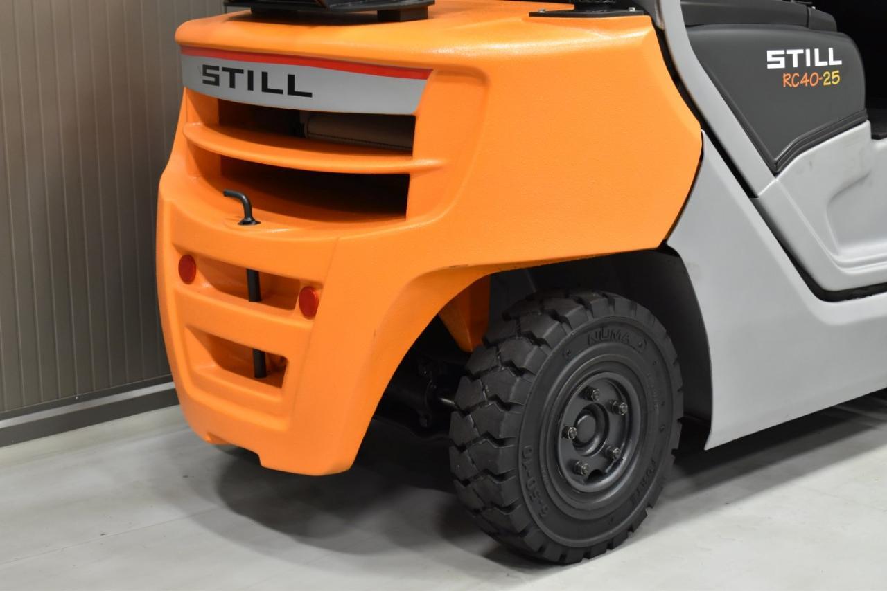 29968 STILL RC 40-25 T - LPG, 2013, BP, Volný zdvih, Triplex, pouze 4482 mth