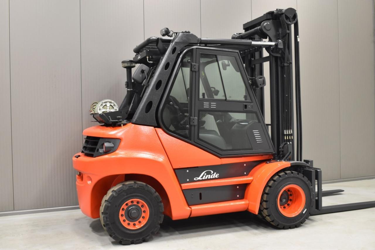 30023 LINDE H 80 T-01 - LPG, 2012, Kabina, BP