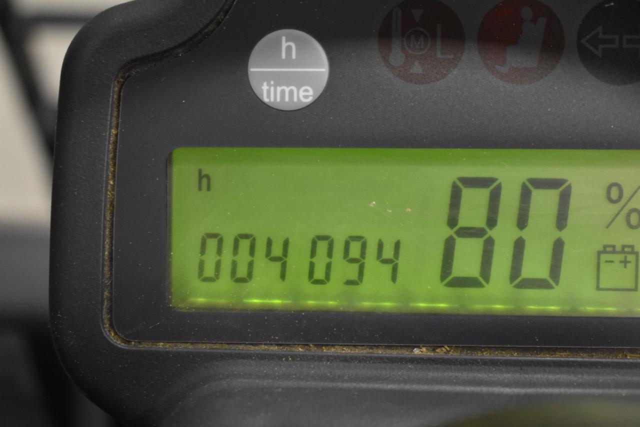 30221 JUNGHEINRICH EFG 110 K - AKU, 2016, BP, pouze 4093 mth