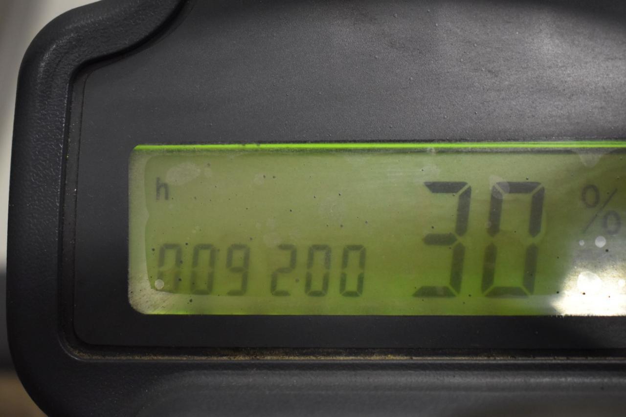 30226 JUNGHEINRICH EFG DHAC 10 - AKU, 2003, BP, volný zdvih, Triplex