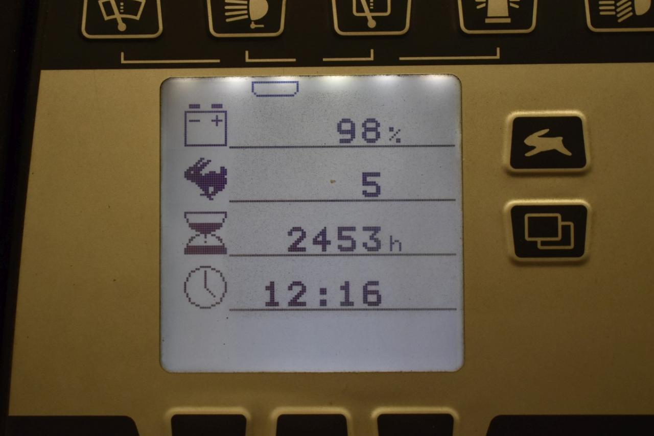 30327 STILL RX 20-16 - AKU, 2008, BP, volný zdvih, Triplex, pouze 2452 mth