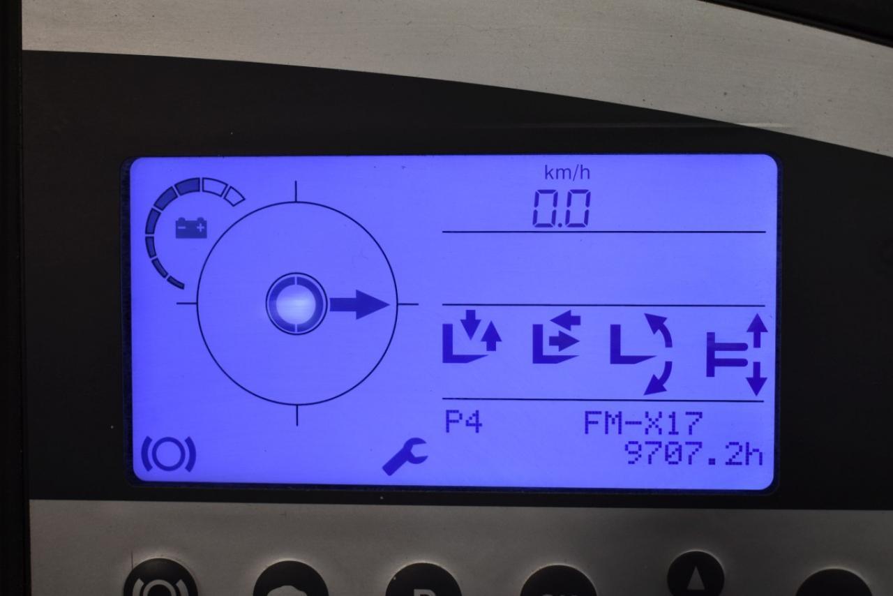 30351 STILL FM-X 17 - AKU, Retrak, 2014, BP, volný zdvih, Triplex
