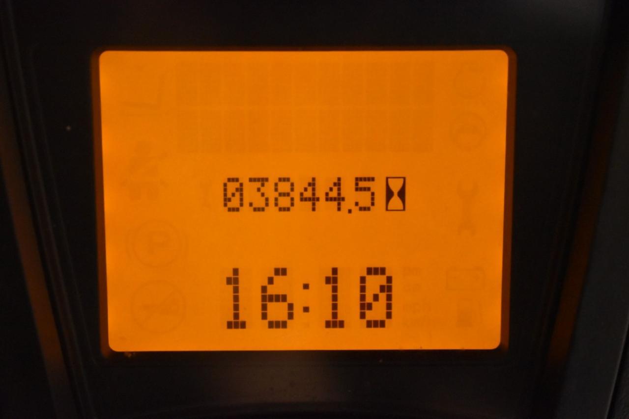 30446 LINDE H 16 T-01 - LPG, 2015, Kabina, BP, pouze 3843 mth