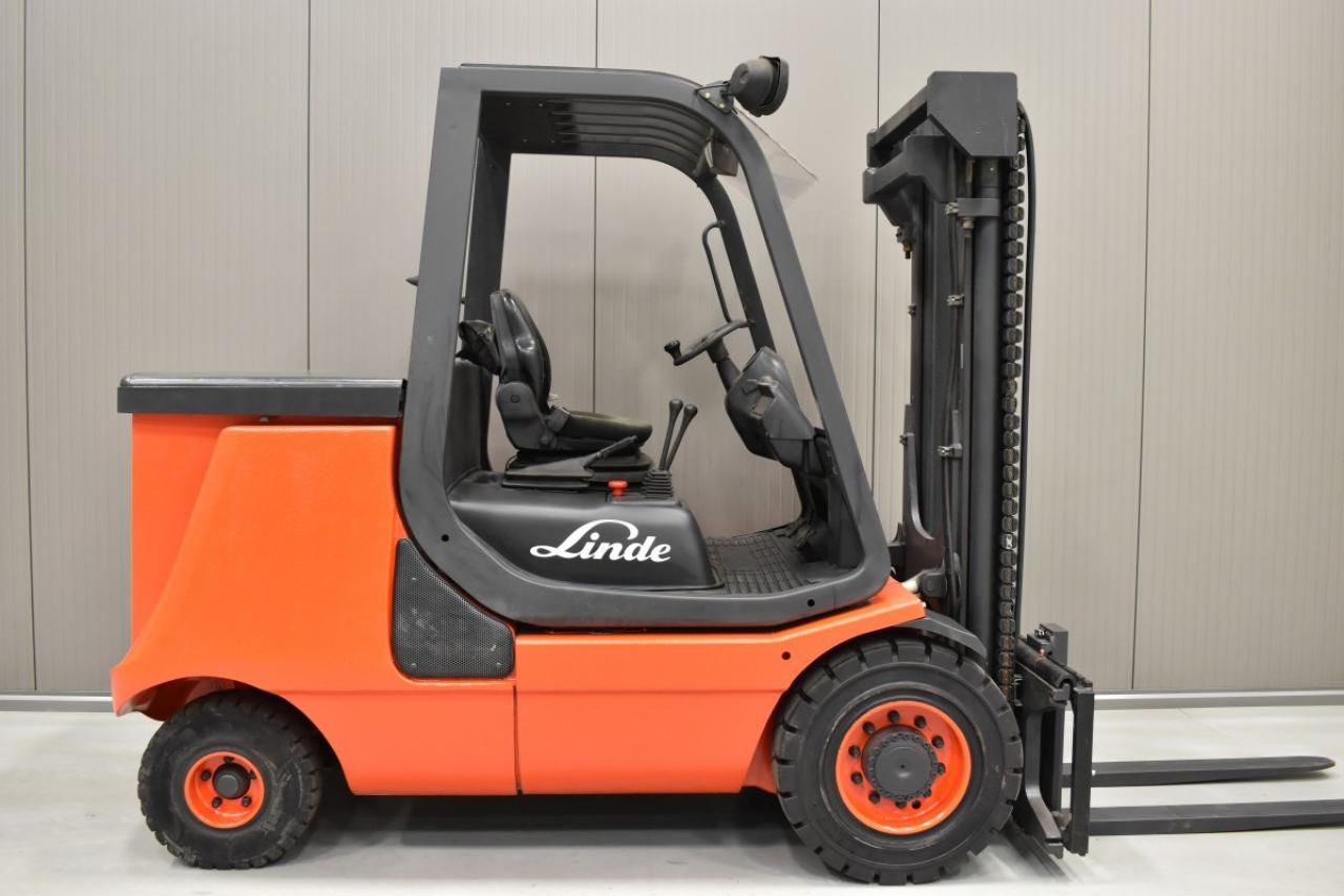 30578 LINDE E 40 - Battery, 2008, SS, only 1496 hrs