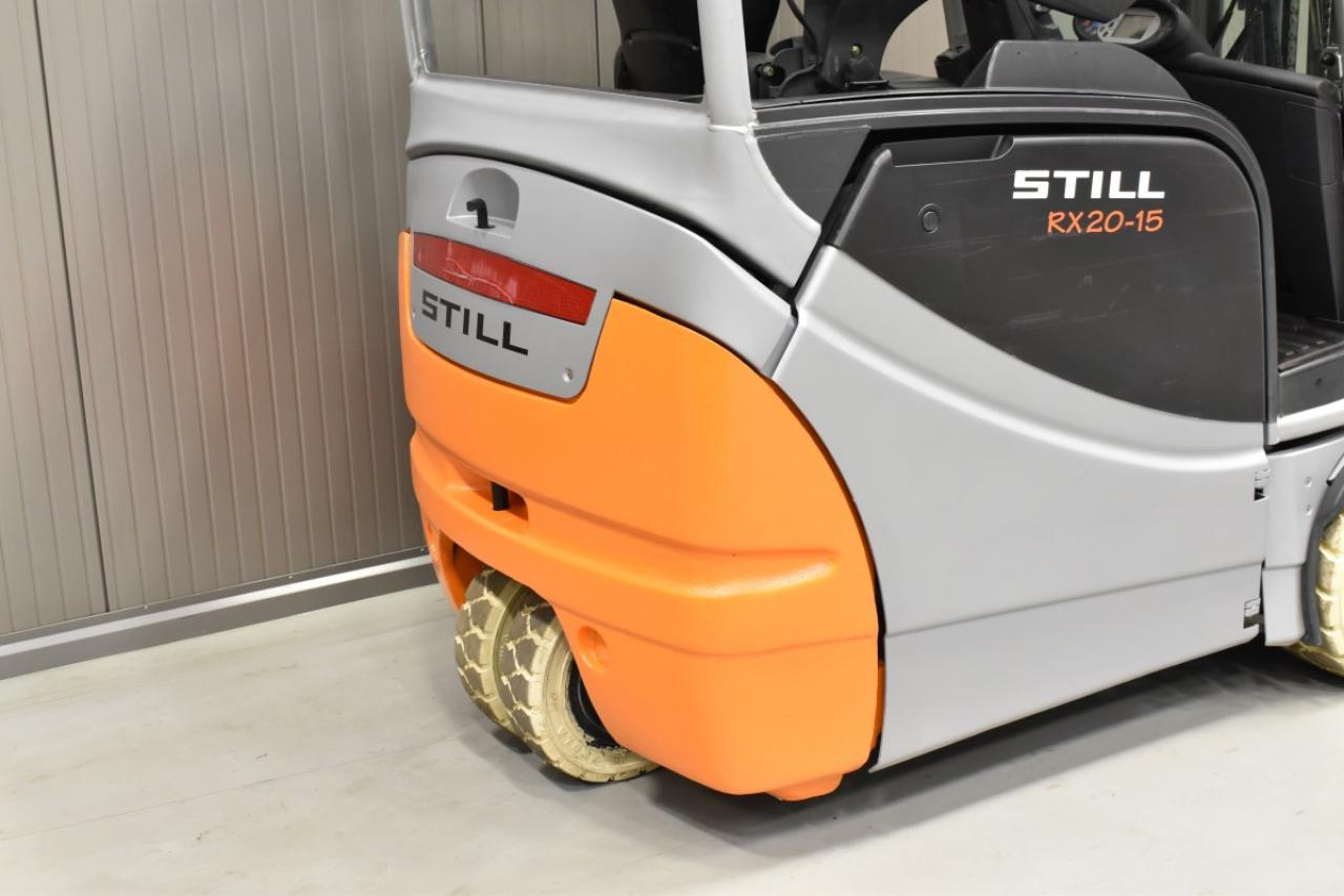 30687 STILL RX 20-15 - Battery, 2010, SS, Free lift, TRIPLEX
