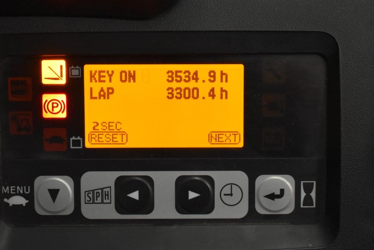 30780 TOYOTA 8FBET15 - AKU, 2011, Kabina, BP, zánovní - 2162 mth