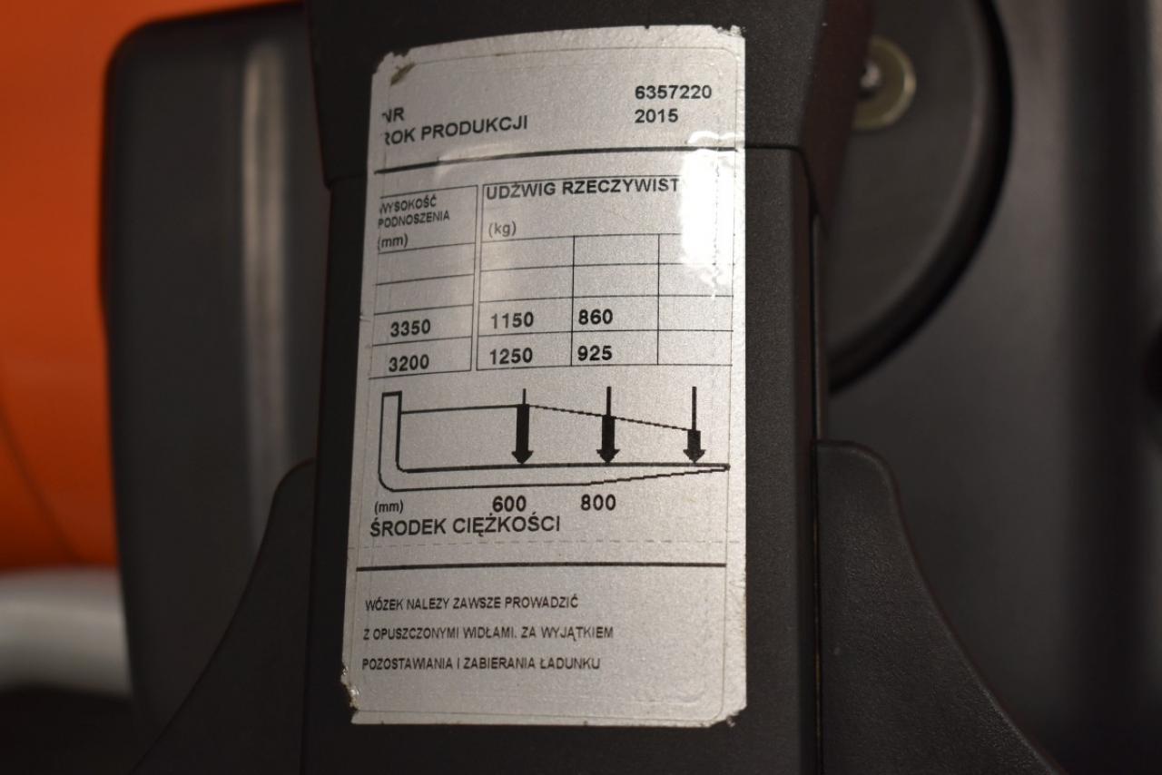 30788 BT SPE 125 - AKU, 2015, volný zdvih, Triplex, pouze 5503 mth