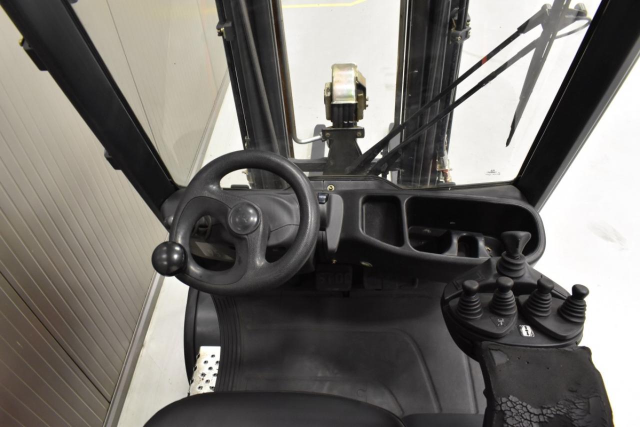 30869 LINDE H 20 T-01  - LPG, 2012, BP, volný zdvih, Triplex