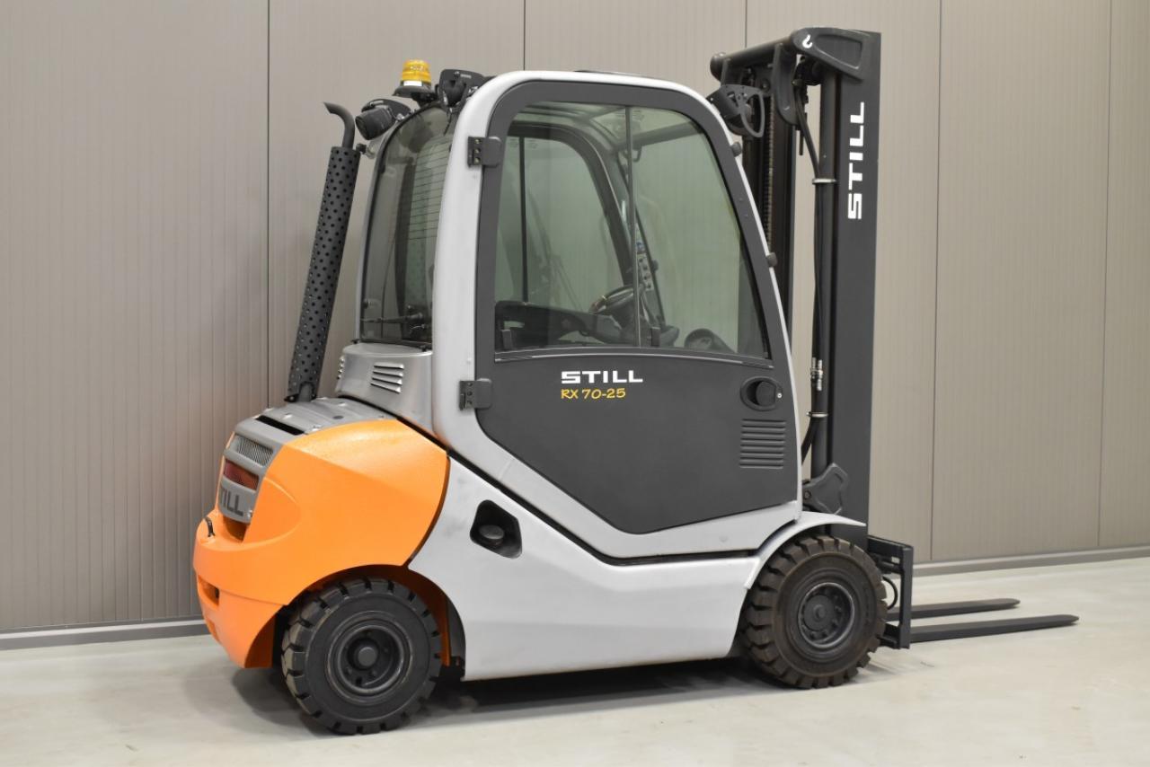 30905 STILL RX 70-25 - Diesel, 2015, Kabina, BP, pouze 6736 mth