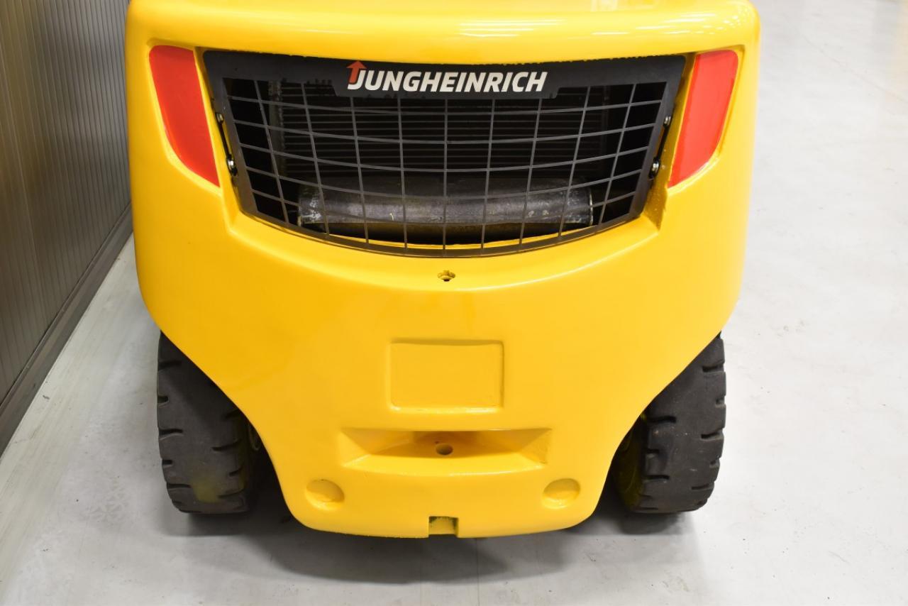 30931 JUNGHEINRICH DFG 435 S - Diesel, 2011, polokabina, BP