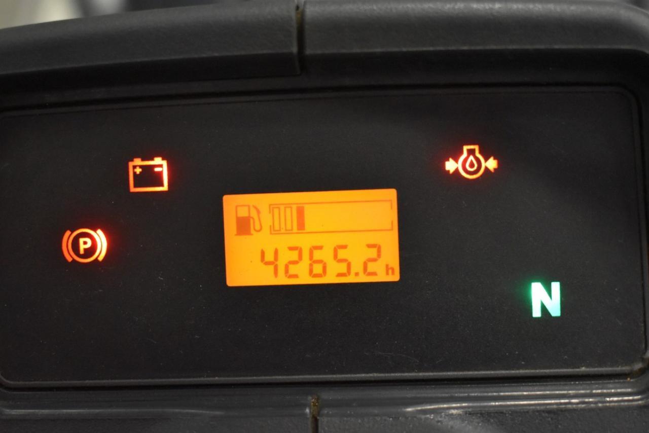 30932 JUNGHEINRICH DFG 430 - Diesel, 2015, polokabina, BP, pouze 4264 mth