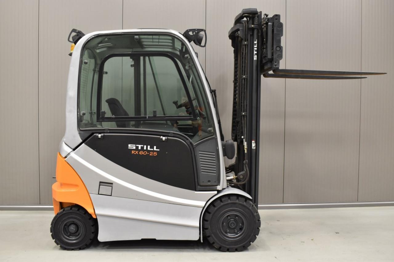 30947 STILL RX 60-25 - AKU, 2012, Kabina, BP+HSV, volný zdvih