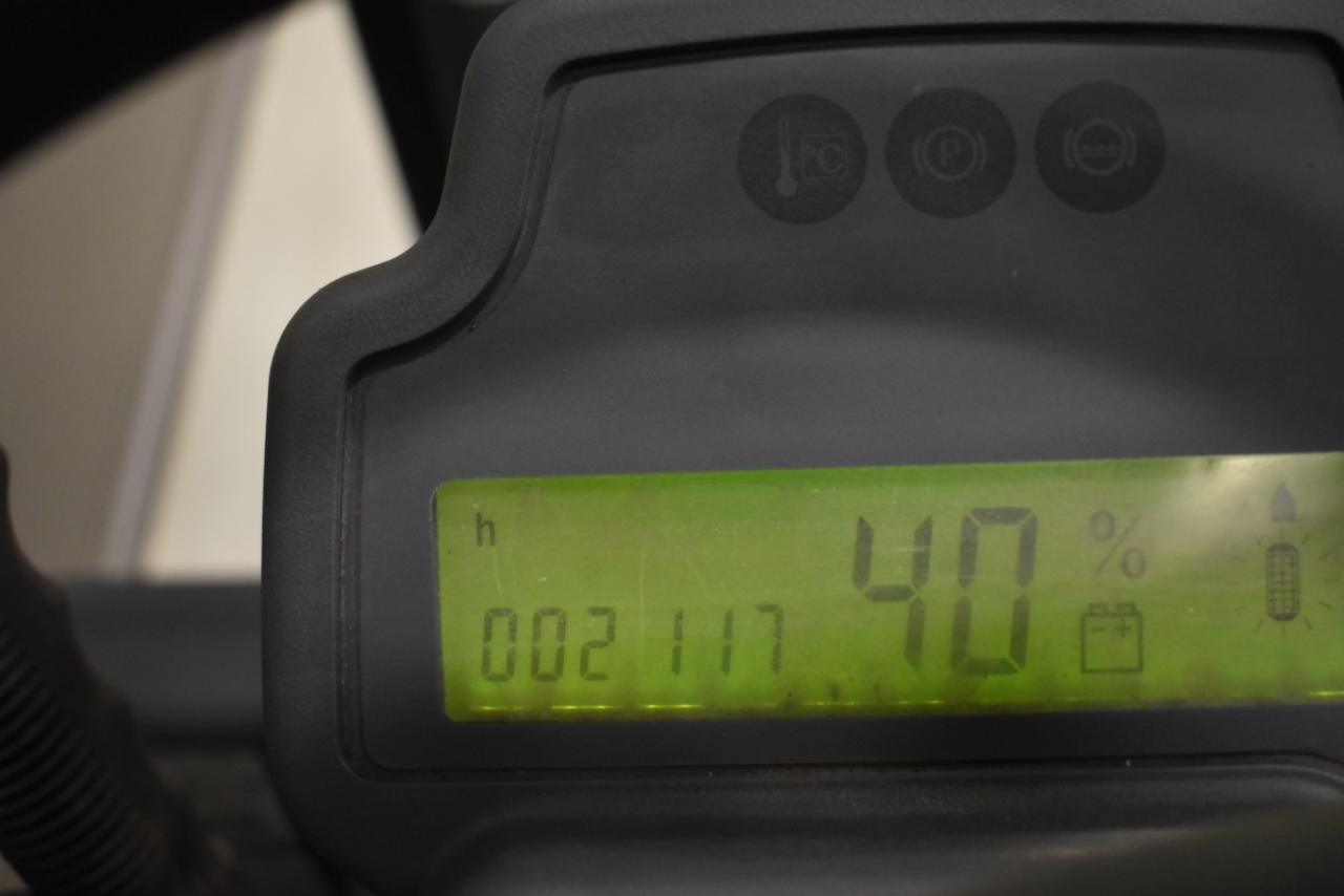 31031 JUNGHEINRICH EFG 110 K - AKU, 2014, BP, pouze 2117 mth