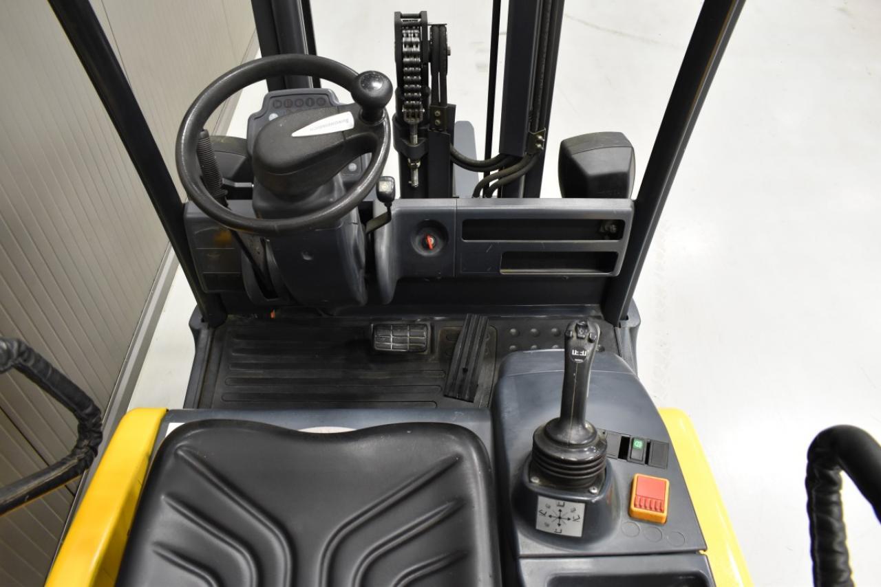 31112 JUNGHEINRICH EFG 320 - AKU, 2005, BP, volný zdvih