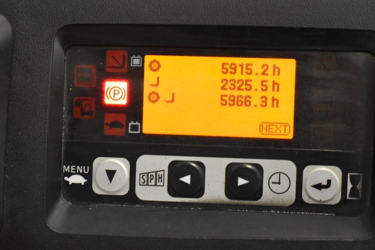 31201 TOYOTA 8FBET15 - AKU, 2010, volný zdvih, pouze 5965 mth, BAT 2012