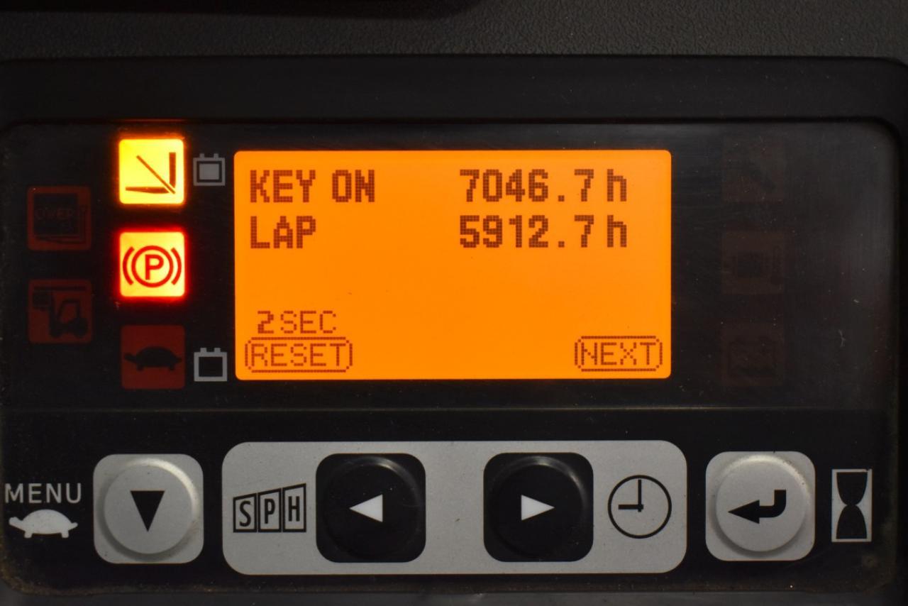 31225 TOYOTA 8FBMT18 - AKU, 2014, Kabina, BP, pouze 2894 mth
