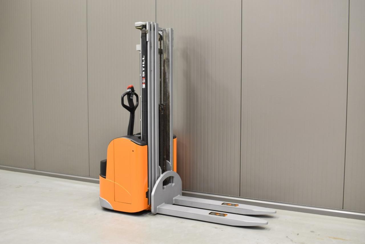 31229 STILL EGV 14 - Battery, 2009, Free lift, TRIPLEX, only 5169 hrs