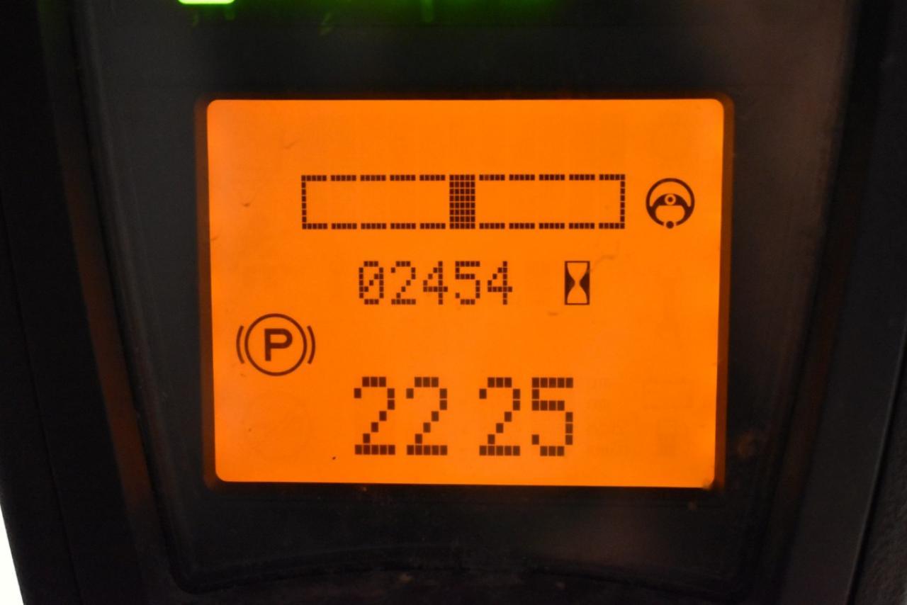 31308 LINDE E 14-02  - AKU, 2014, polokabina, BP, pouze 2452 mth