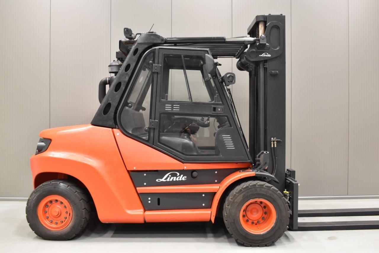 31347 LINDE H 80 D-01/900 - Diesel, 2012, Kabina