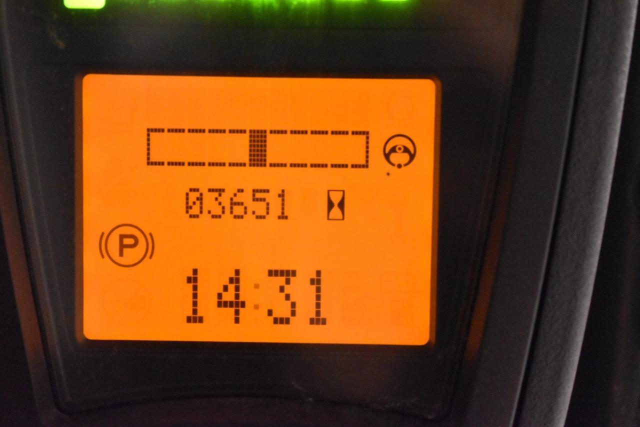 31461 LINDE E 15-02 - AKU, 2016, BP, volný zdvih, Triplex, pouze 3651 mth
