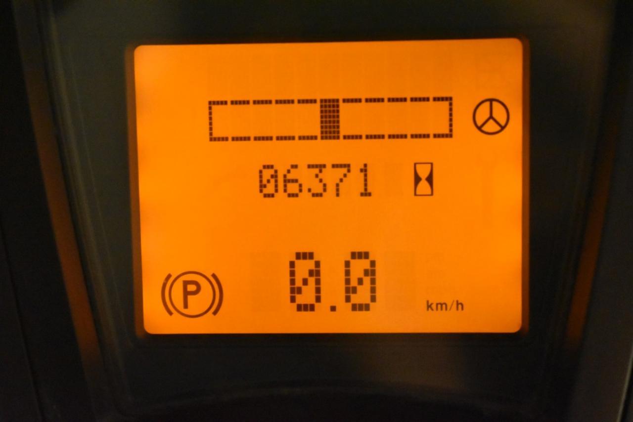 31491 LINDE E 18-01 - AKU, 2007, polokabina, BP, volný zdvih, Triplex, pouze 6370 mth, BAT 2011