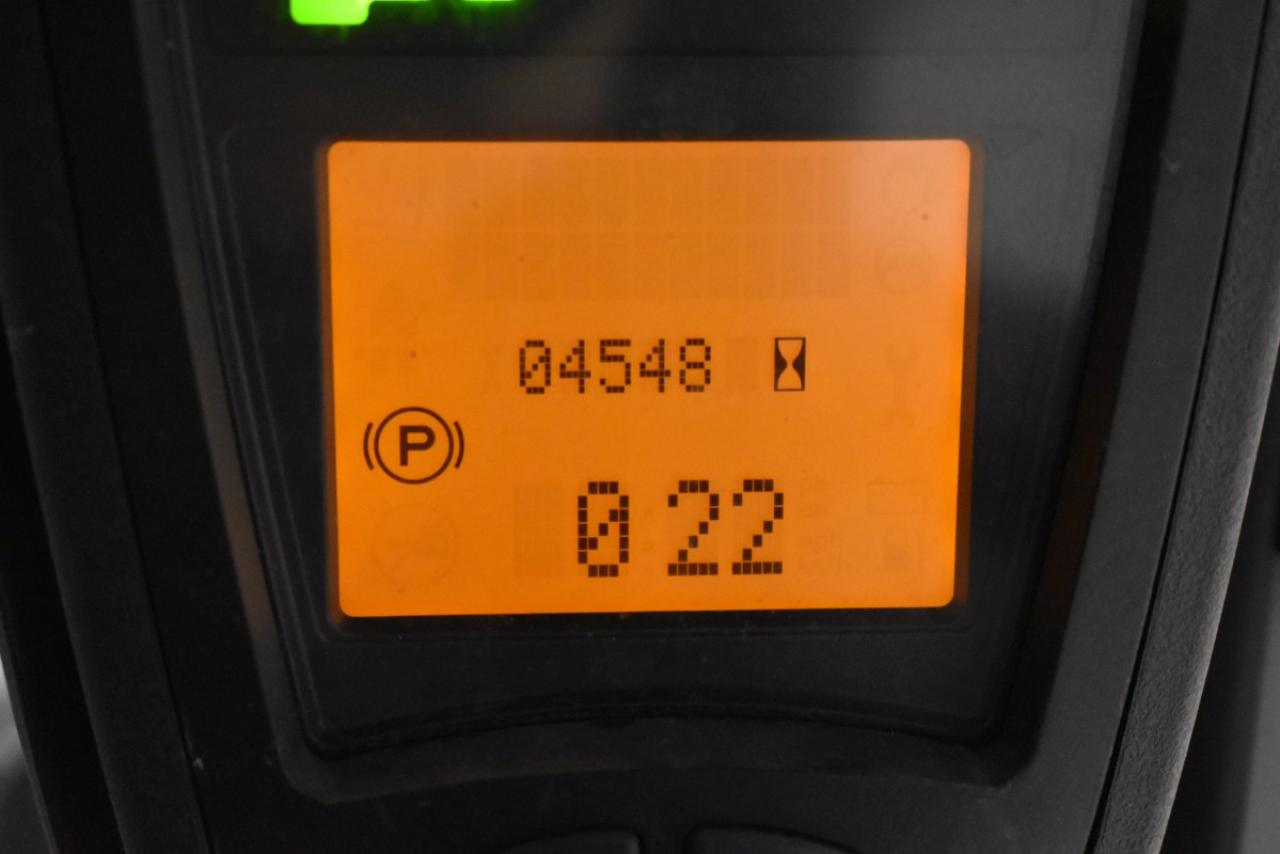 31609 LINDE E 18 PH-01 - AKU, 2012, BP, volný zdvih, Triplex, pouze 4547 mth